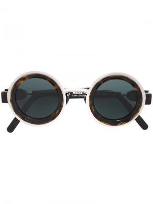 Солнцезащитные очки Kuboraum. Цвет: коричневый