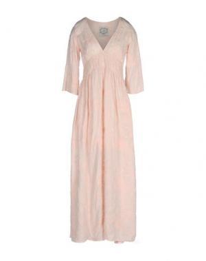 Длинное платье PINK MEMORIES. Цвет: светло-розовый