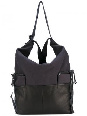 Рюкзак среднего размера Ganges Alias Côte&Ciel. Цвет: чёрный