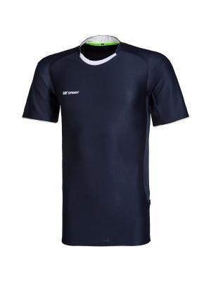 Футболка Champion II 2K. Цвет: темно-синий, белый