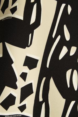 Платье с абстрактным принтом Adolfo Dominguez. Цвет: multicolor