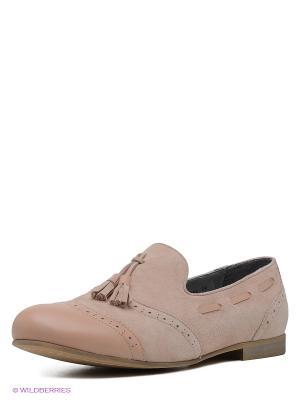 Слиперы Shoe the Bear. Цвет: бледно-розовый