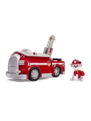 Игрушка Paw Patrol Большой автомобиль спасателей со звуком SPIN MASTER. Цвет: красный