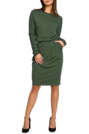 Dress BeWear. Цвет: green