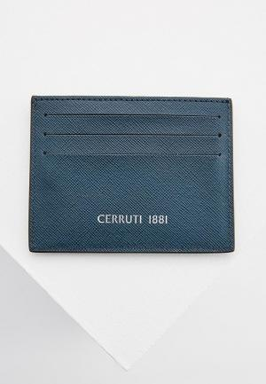 Визитница Cerruti 1881. Цвет: синий