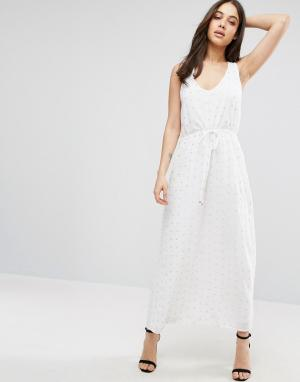 Little White Lies Платье макси. Цвет: белый