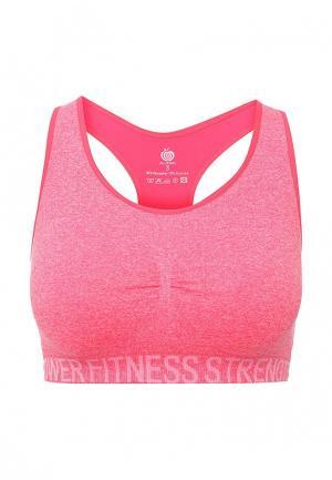 Топ спортивный Allegri. Цвет: розовый
