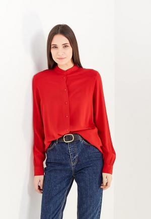 Блуза Jacqueline de Yong. Цвет: красный