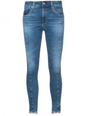 Skinny jeans Ag. Цвет: синий