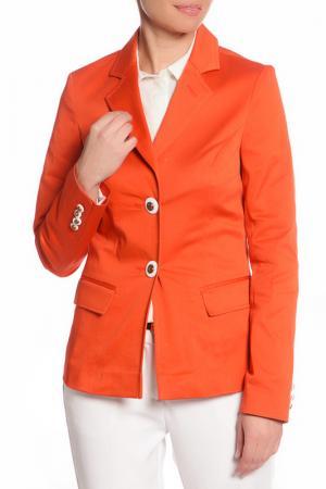 Жакет YARMINA. Цвет: оранжевый
