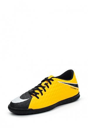 Бутсы зальные Nike. Цвет: разноцветный