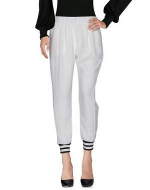 Повседневные брюки AVIO. Цвет: белый