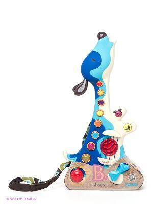 Игрушка Гитара Battat. Цвет: голубой, синий