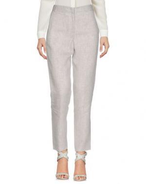 Повседневные брюки FRENCH CONNECTION. Цвет: светло-серый