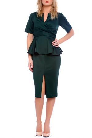 Платье Moda di Chiara. Цвет: зеленый