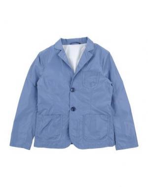 Пиджак PAOLO PECORA. Цвет: небесно-голубой