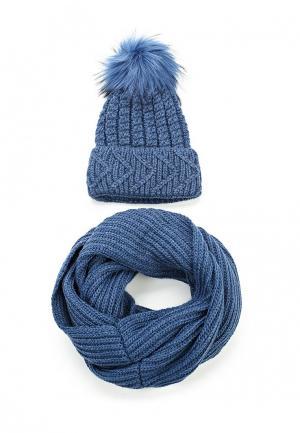 Комплект Fete. Цвет: синий