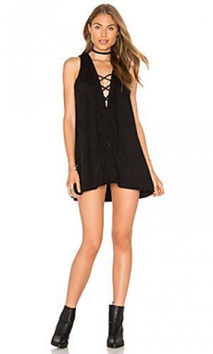 Платье alt YFB CLOTHING. Цвет: черный