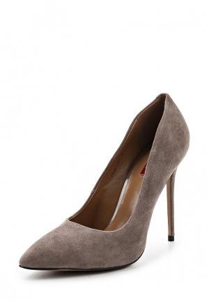 Туфли Milana. Цвет: серый