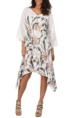 Платье Lin nature. Цвет: белый