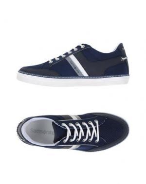 Низкие кеды и кроссовки SAMSONITE FOOTWEAR. Цвет: темно-синий