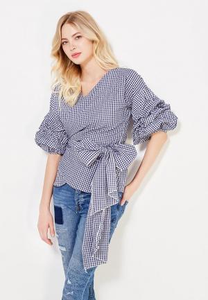 Блуза Tantra. Цвет: синий