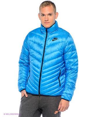 Пуховик CASCADE JACKET - 700 Nike. Цвет: голубой