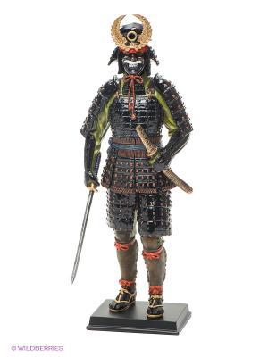 Статуэтка Феодал Токугава Иэясу Veronese. Цвет: черный, коричневый, красный