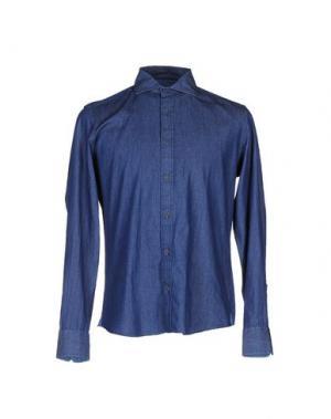 Джинсовая рубашка ALTEA dal 1973. Цвет: синий