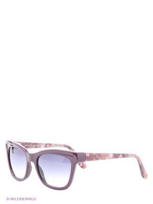 Солнцезащитные очки Franco Sordelli. Цвет: сливовый