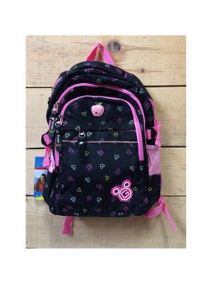 Рюкзак спортивный, цвет черный, BM8660, Black Mikky Gaoba. Цвет: черный, розовый