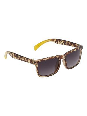 Солнцезащитные очки Check it out Molo. Цвет: зеленый, коричневый