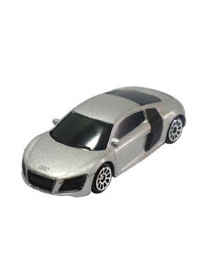 Машинка Audi R8 V10, Серая (1:64) (PS-344996S-G) Pit Stop. Цвет: серый