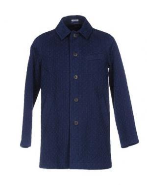 Легкое пальто BLUE JAPAN. Цвет: синий