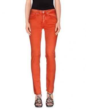 Джинсовые брюки CYCLE. Цвет: оранжевый