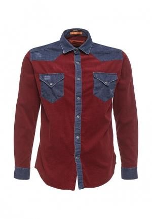 Рубашка Sahera Rahmani. Цвет: бордовый