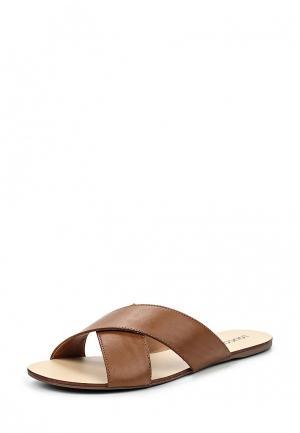 Шлепанцы Loucos & Santos. Цвет: коричневый