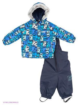 Комплект одежды Kerry. Цвет: темно-синий, голубой