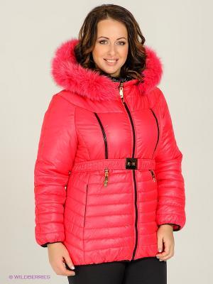 Куртка Alisa Line. Цвет: розовый