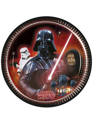 Тарелки Звездные войны 23 см, 8 шт. Procos. Цвет: черный