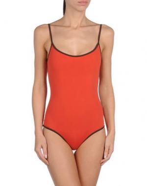 Слитный купальник LAURA URBINATI. Цвет: красный