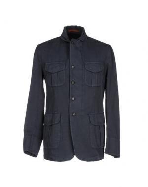 Пиджак MONTEDORO. Цвет: грифельно-синий