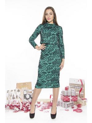 Комплект одежды Lautus. Цвет: черный, зеленый