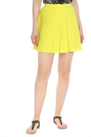 Юбка American Apparel. Цвет: желтый