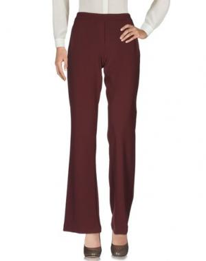 Повседневные брюки HOPPER. Цвет: баклажанный