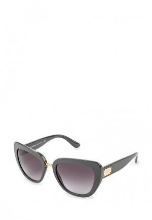 Очки солнцезащитные Dolce&Gabbana. Цвет: серый