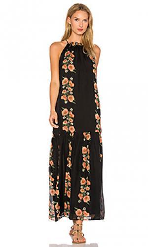 Платье lucia Carolina K. Цвет: черный