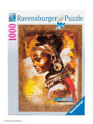Пазл Африканская красавица Ravensburger. Цвет: коричневый