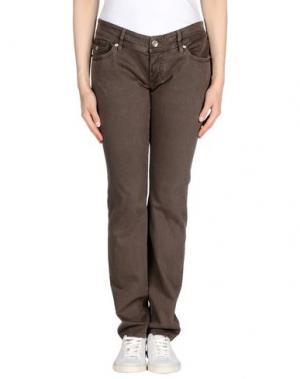Джинсовые брюки NOLITA DE NIMES. Цвет: хаки