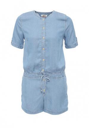 Комбинезон джинсовый Tommy Hilfiger Denim. Цвет: голубой